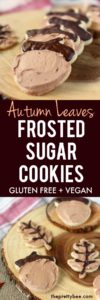 autumn leaves cookies