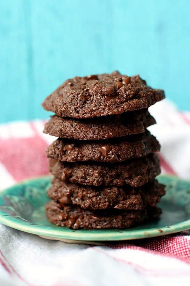 chocolate coconut oil cookies