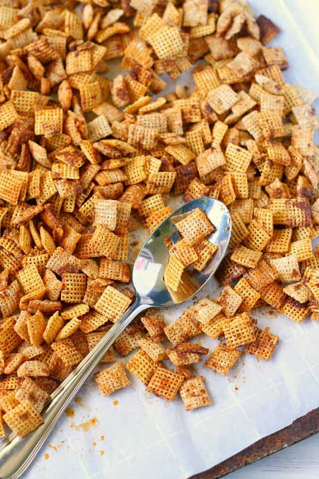 gluten free nut free chex snack mix