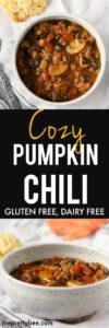 gluten free pumpkin chili