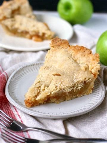 gluten free vegan apple pie