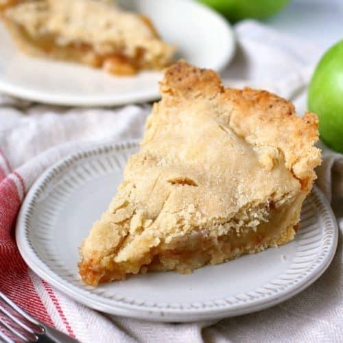 Homemade Gluten Free Vegan Apple Pie