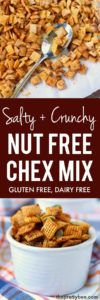 salty and crunchy chex mix