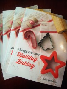 allergy friendly holiday baking cookbook