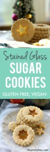 allergy friendly stained glass cookies