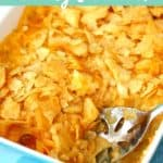 gf potato casserole with crunchy topping