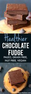 healthier chocolate fudge recipe