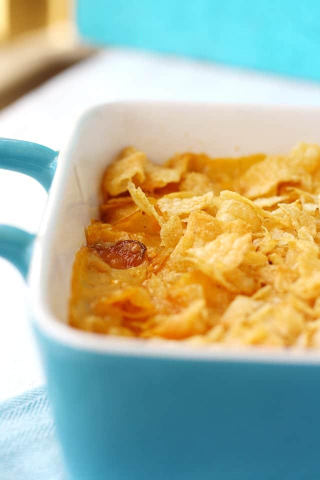 vegan cheesy potatoes