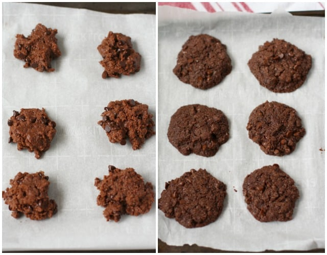 baked coconut oil cookies