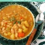 easy rosemary bean soup