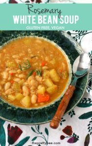 easy rosemary bean soup