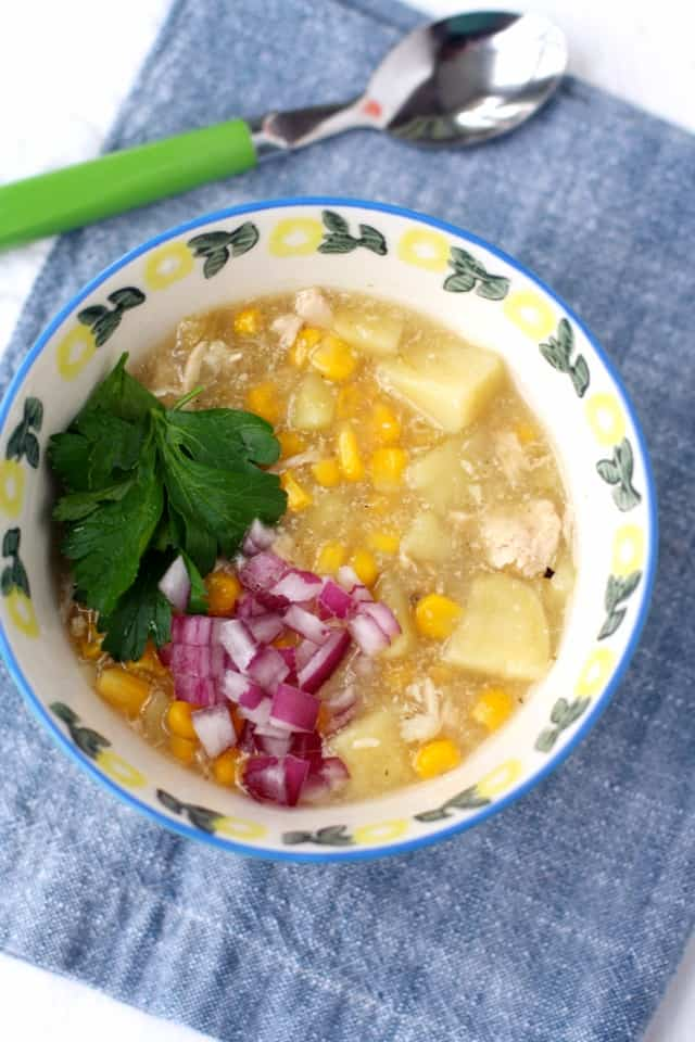 white chicken chili without beans