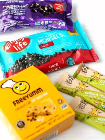 allergy friendly chocolate and snacks