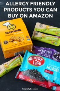 allergy friendly items found on amazon