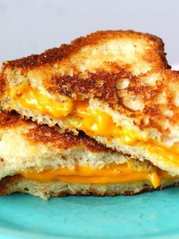 gluten free vegan grilled cheese
