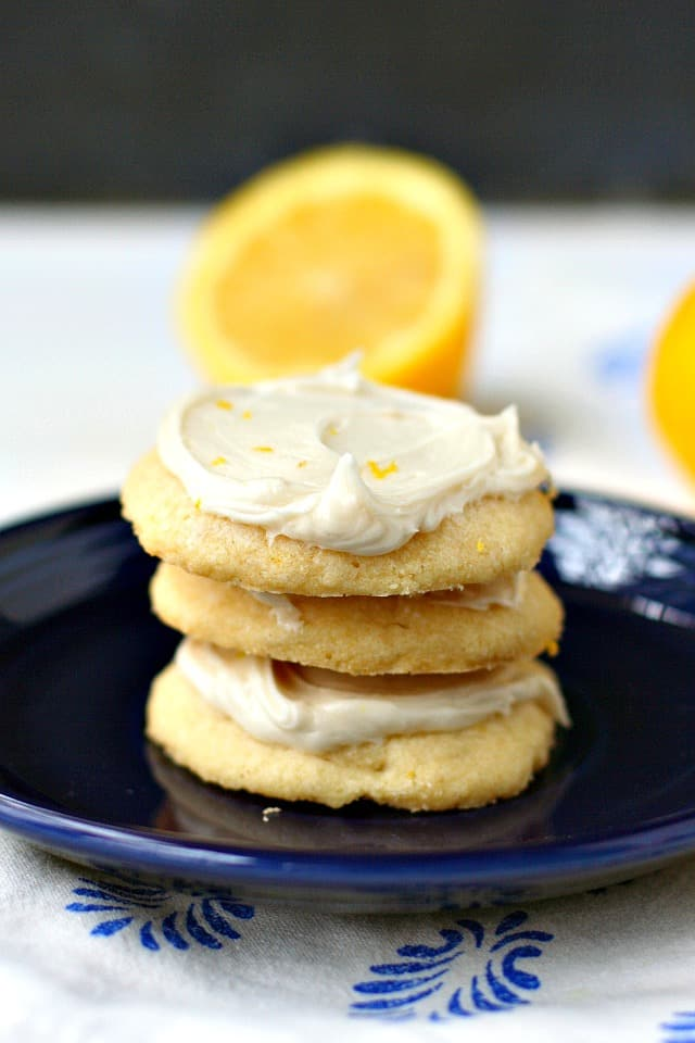 vegan gluten free lemon shortbread