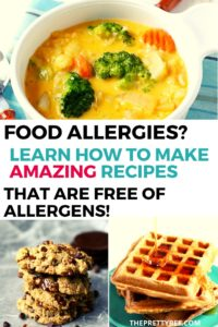 learn how to cook for food allergies