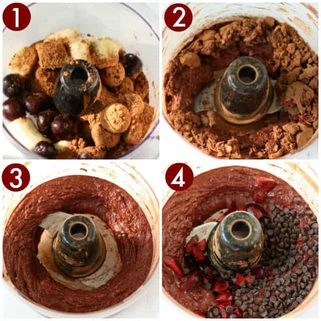 how to make chocolate cherry nice cream