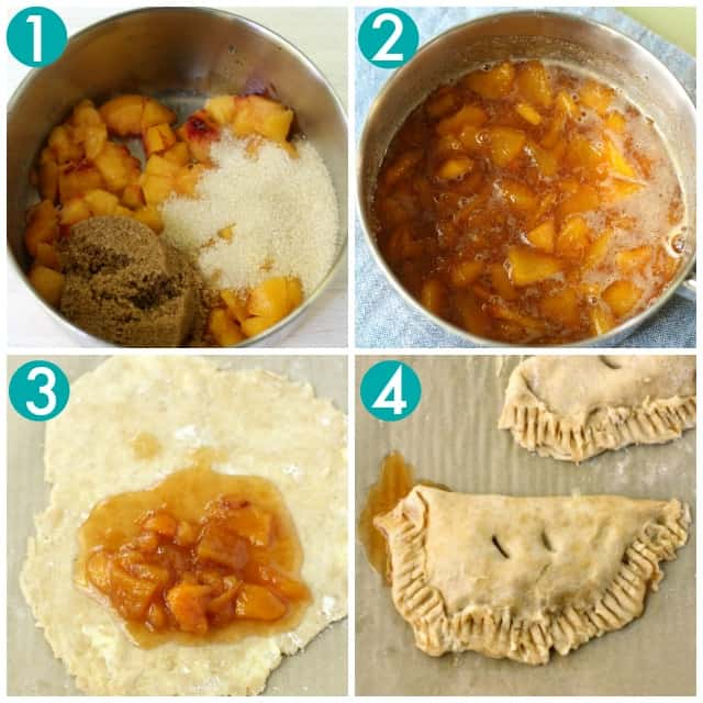 how to make peach hand pies