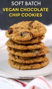 vegan soft batch cookie recipe
