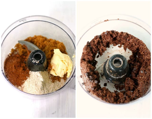brownie batter bites in food processor