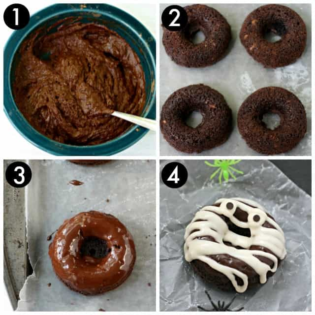 how to make gluten free halloween donuts