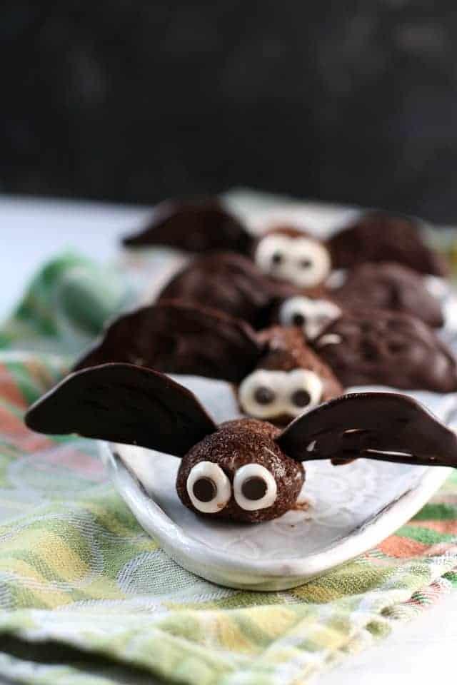 brownie bite bats