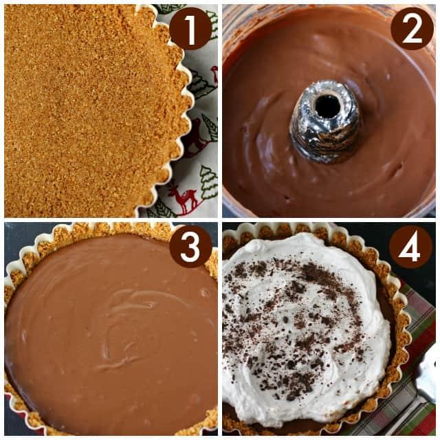 how to make vegan french silk pie