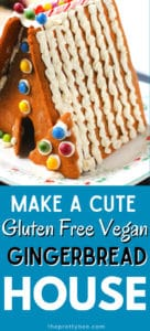 gluten free gingerbread house recipe