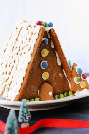 gluten free vegan gingerbread house recipe