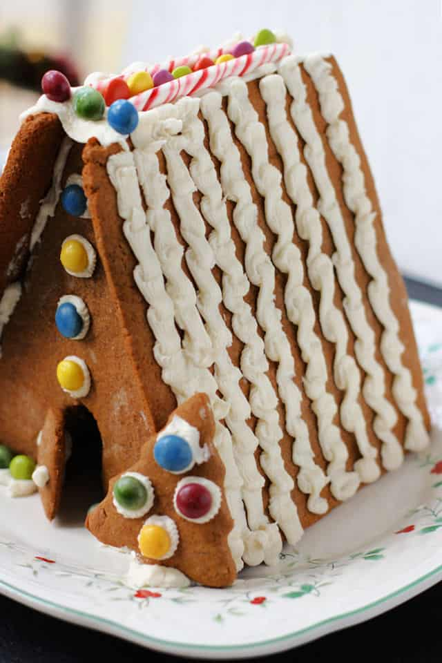 gluten free vegan gingerbread house