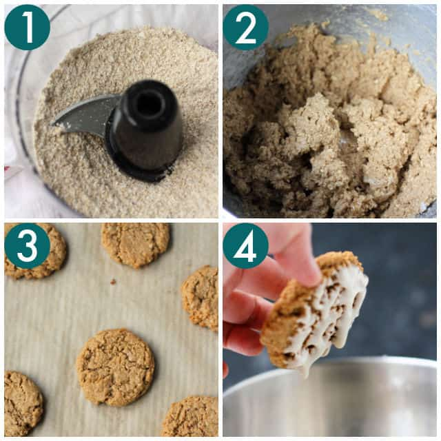 how to make old fashioned iced oatmeal cookies