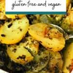 easy vegan scalloped potatoes