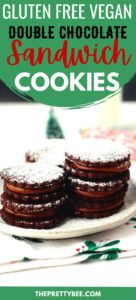 vegan chocolate sandwich cookies