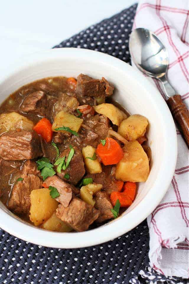 Slow Cooker Beef Stew Gluten Free The Pretty Bee