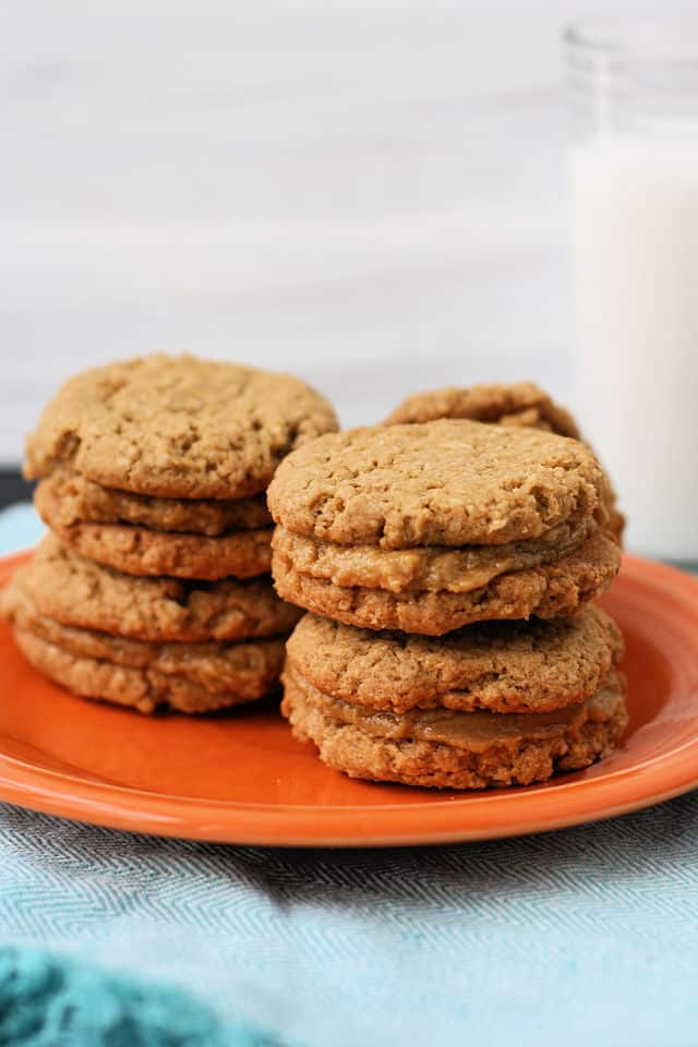 gluten free do si do peanut butter sandwich cookies
