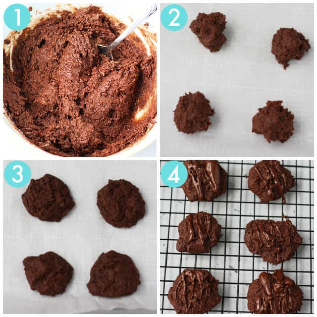 how to make gluten free brownie cookies