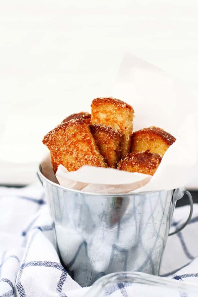 gluten free vegan french toast sticks