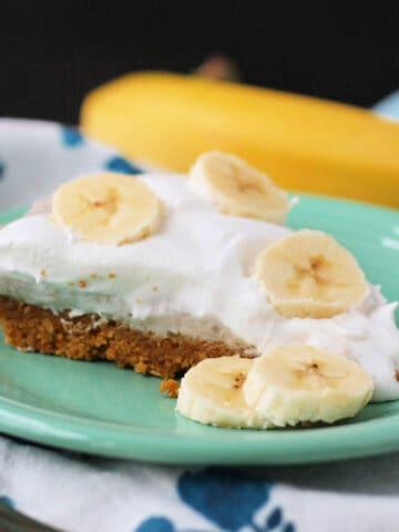 dairy free banana cream pie