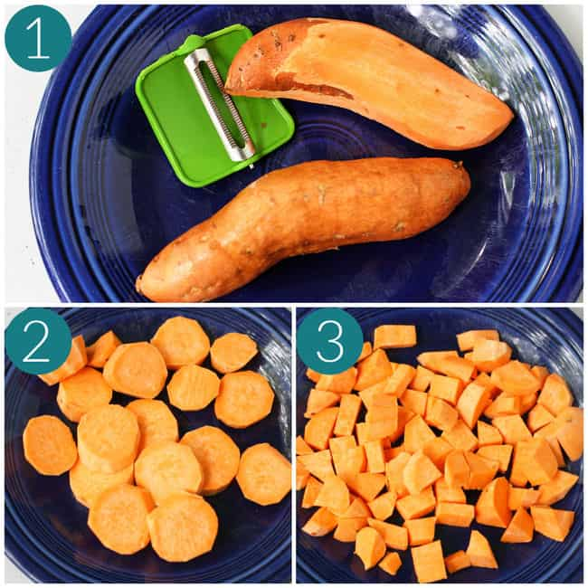 how to prepare sweet potatoes
